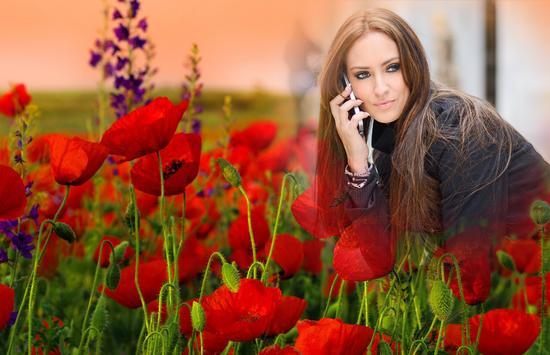 Flower Photo Frame apk screenshot