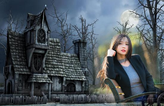 Haunted House Photo Frames apk screenshot