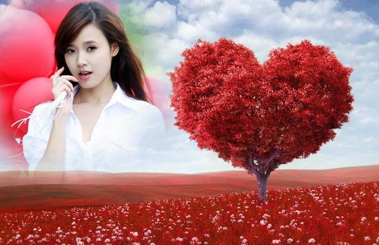 Love Tree Photo Frames poster