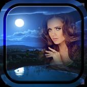 Night Sky Photo Frame icon