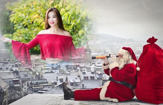 Santa Clause Photo Frames apk screenshot