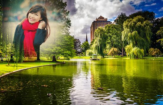 Pond Photo Frames apk screenshot