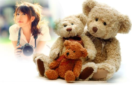 Teddy Bear Photo Frame apk screenshot