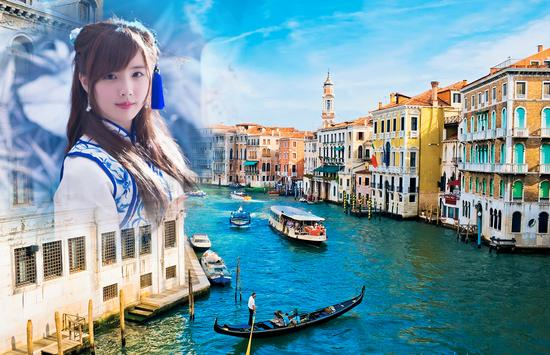 Venice Photo Frames poster