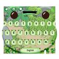 Cute Travel Frog Keyboard Theme
