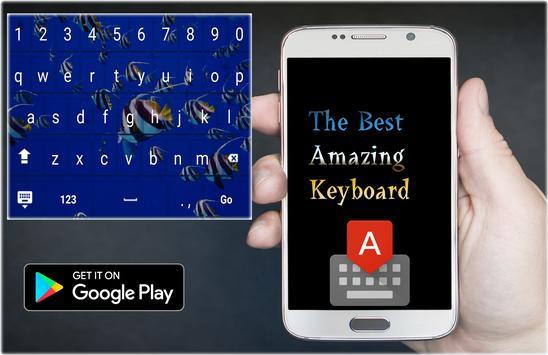 Aquarium Keyboard Theme poster