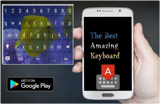 Aquarium Keyboard Theme apk screenshot
