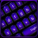 Cool Black Purple Keyboard APK