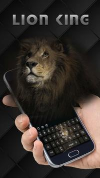 Cool Lion King Keyboard poster