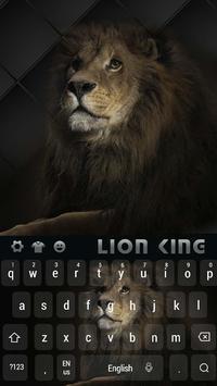 Cool Lion King Keyboard apk screenshot
