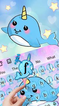 Cute Unicorn Whale screenshot 1