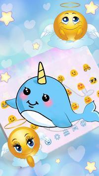 Cute Unicorn Whale screenshot 2