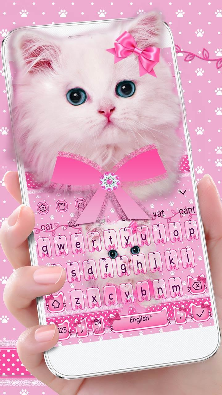 Cute Pink Cat Keyboard For Android Apk Download
