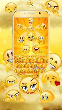 Cute Face Emoji poster