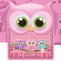 Cute owl keyboard