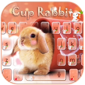 Cup Rabbit Keyboard icon