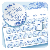 Blue and White Porcelain Keyboard icon