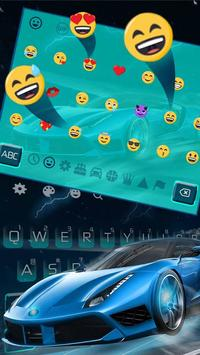 Blue Lightning Cool Car screenshot 1
