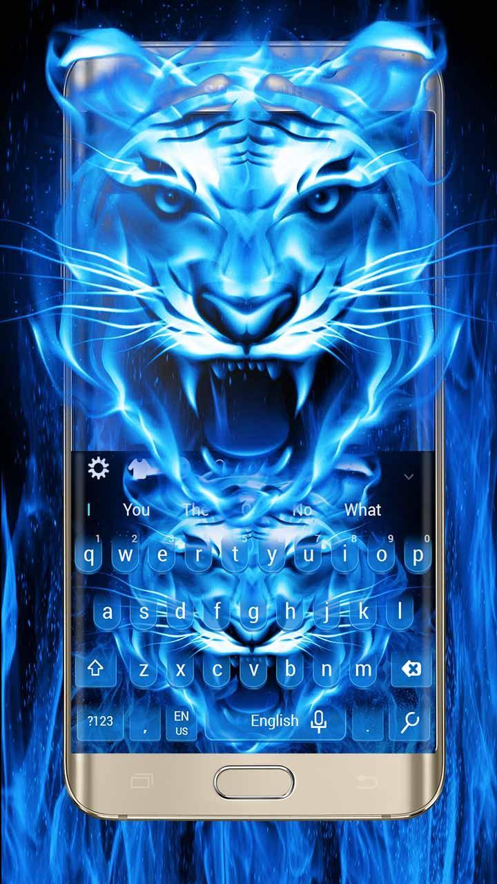 Blue Flame Tiger for Android - APK Download
