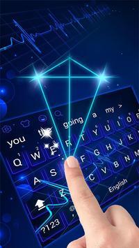 Hologram Keyboard Theme screenshot 1