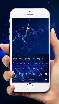 Hologram Keyboard Theme screenshot 2