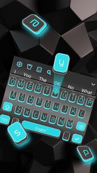 3D Blue Light Black screenshot 1