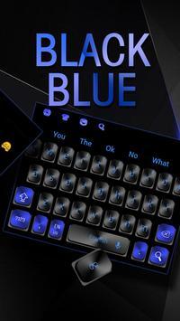 Black Blue Keyboard screenshot 1