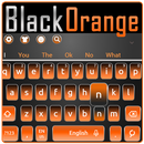 APK Black Orange Keyboard