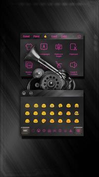 Metal Pink Light Keyboard screenshot 2