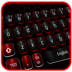 Classic Black Red Keyboard-APK