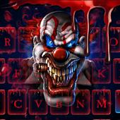 Blood Clown Keyboard 2018 icon