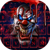 Blood Clown Keyboard 2018 icon