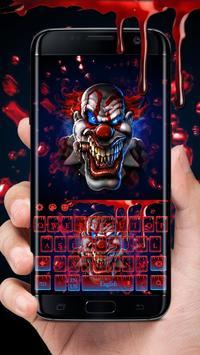 Blood Clown Keyboard 2018 poster