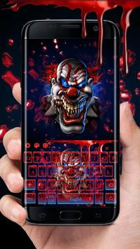 Blood Clown Keyboard 2018 poster