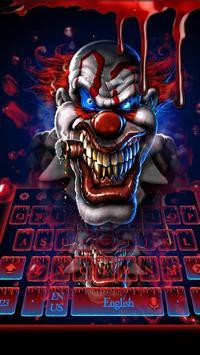 Blood Clown Keyboard 2018 screenshot 1