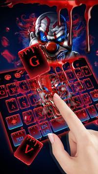 Blood Clown Keyboard 2018 screenshot 2