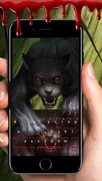 Bloody panther keyboard apk screenshot