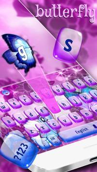 Butterfly Keyboard Theme screenshot 1