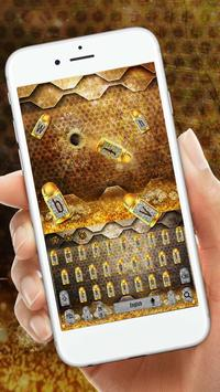 Golden bullet keyboard poster