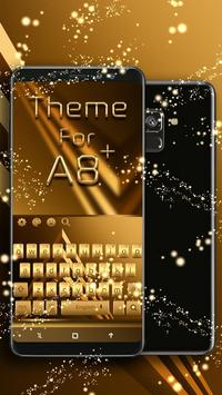 Keyboard Theme For Galaxy A8 Plus poster