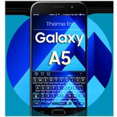 Keyboard Theme for Galaxy A5 icon