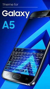 Keyboard Theme for Galaxy A5 poster