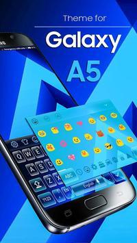 Keyboard Theme for Galaxy A5 screenshot 2