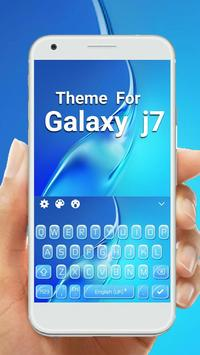 Keyboard Theme For Galaxy J7 poster
