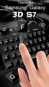 Keyboard for 3D Galaxy S7 screenshot 1
