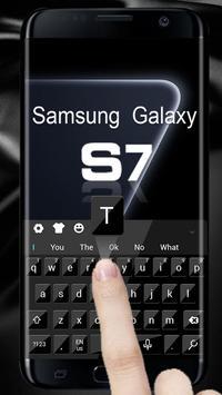 Keyboard for 3D Galaxy S7 screenshot 2
