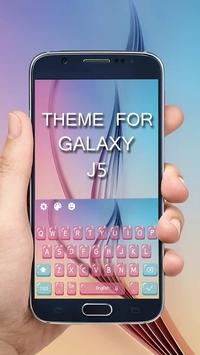 Keyboard Theme For Galaxy J5 poster