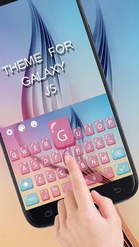 Keyboard Theme For Galaxy J5 screenshot 1