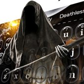 Ghost skeleton Keyboard icon