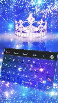 Glaring Crown keyboard poster